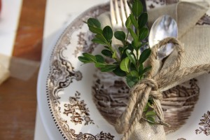 Rustic Fall Table