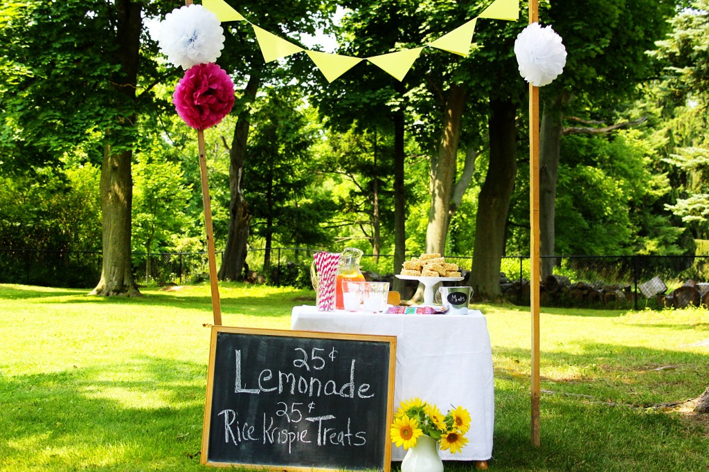 lemonade stand love of home