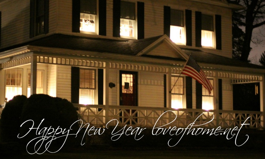 Happy New Year | Love of Home