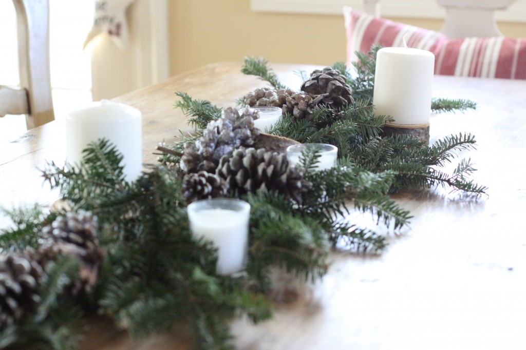 Last Minute, Budget Friendly Table Decor | Love of Home