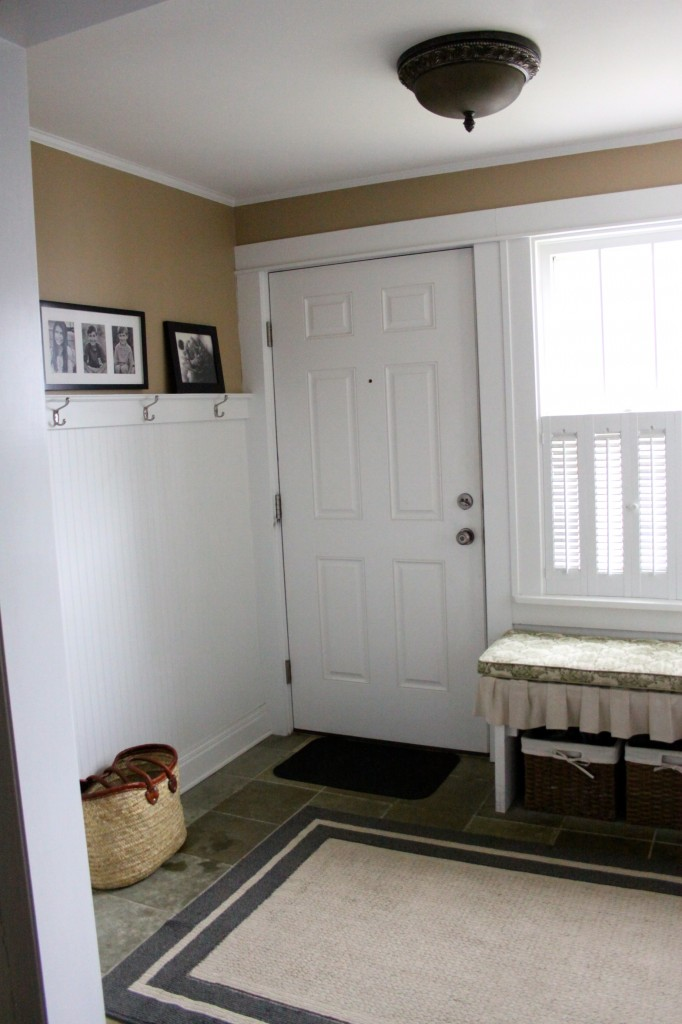 Entry Mudroom| Love of Home