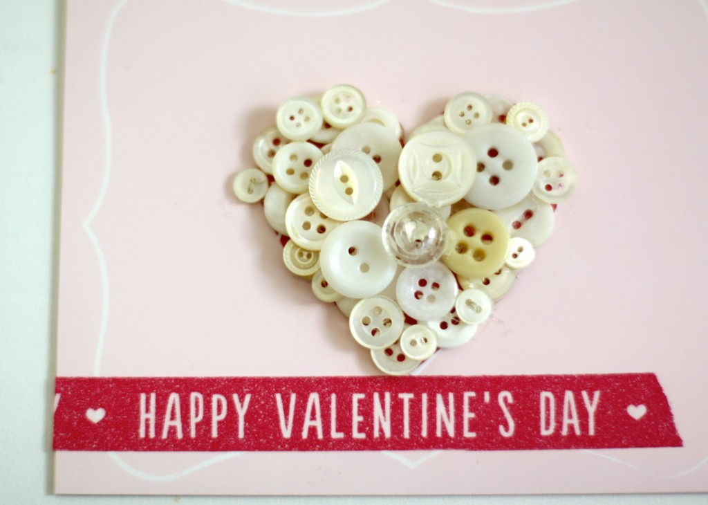 Valentine's Button Card | Love of Home