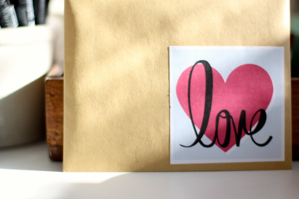 Valentine's Envelope | Love of Home