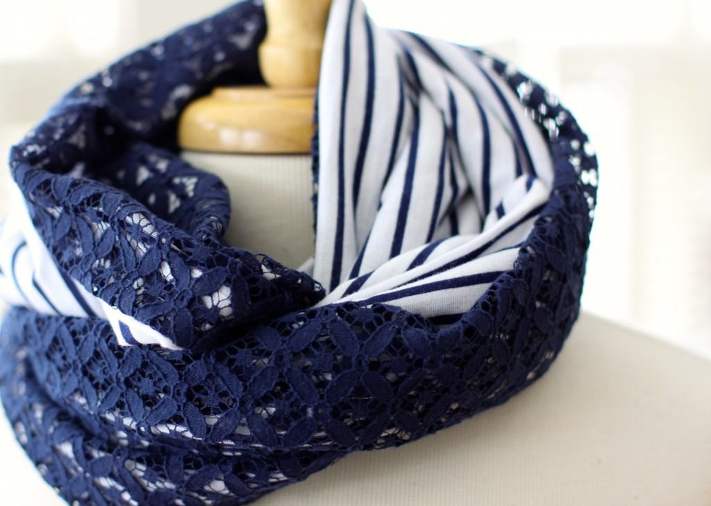 Anthropologie Inspired DIY Scarf
