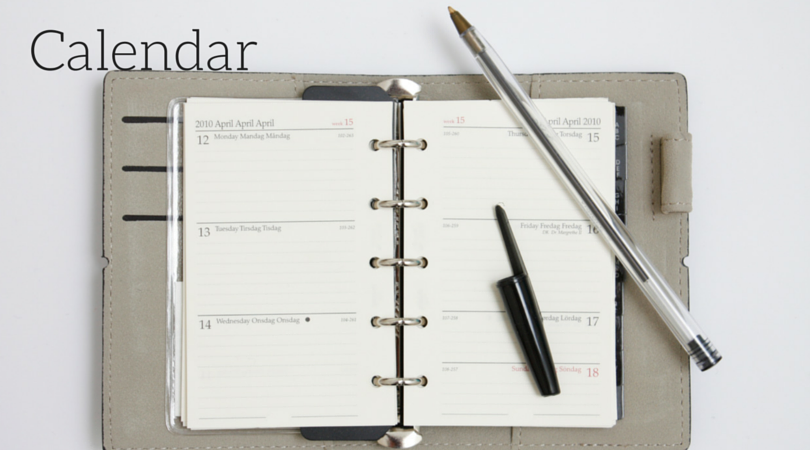 Calendar, Organize Tips & Tricks| Love of Home