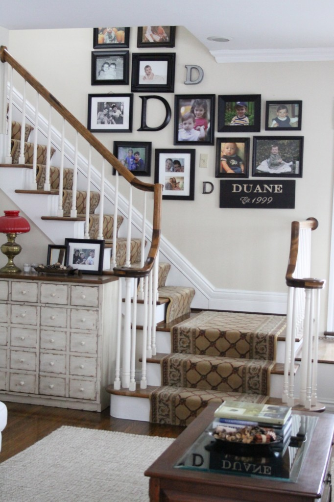 Gallery Wall Update and a Tip for Hanging Frames