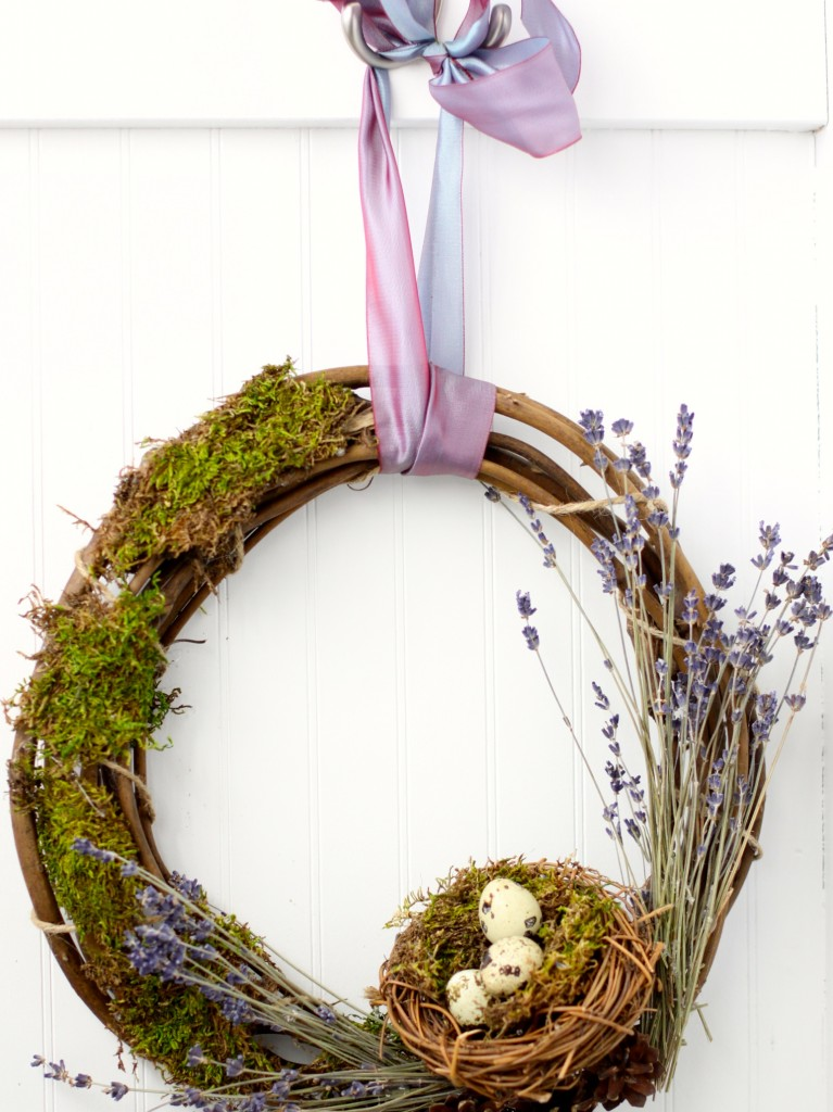 DIY Spring Wreath | Love of Home