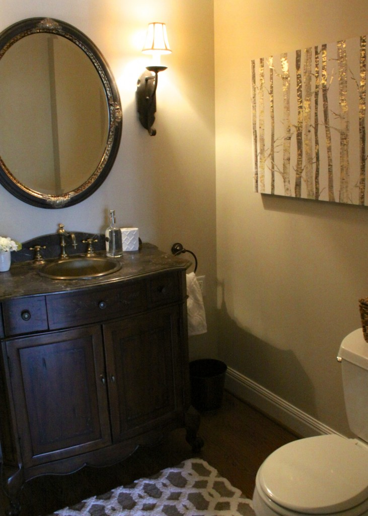 IMG_2802Powder Room Reveal| Love of Home