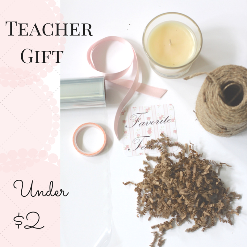 Teacher Gift Under $2| Love of Home
