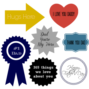 Father's Day Printable & Gift Idea