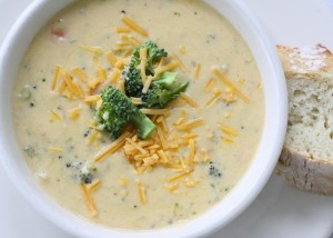 Best Broccoli Cheddar Soup Ever!