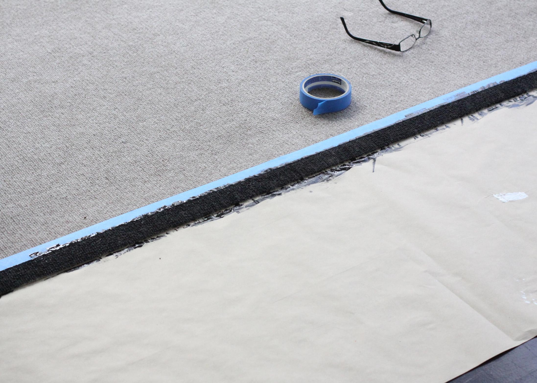 awesome tape improvised paint spray diy and design rug outdoor my insanely