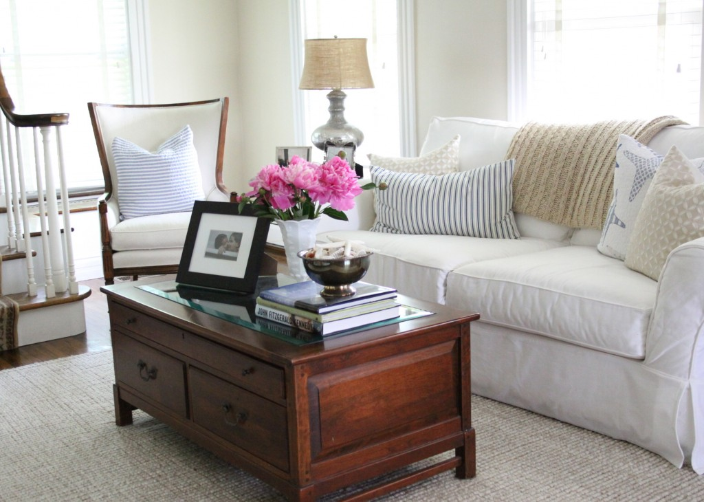 Summer 2015 Living Room | Love of Home