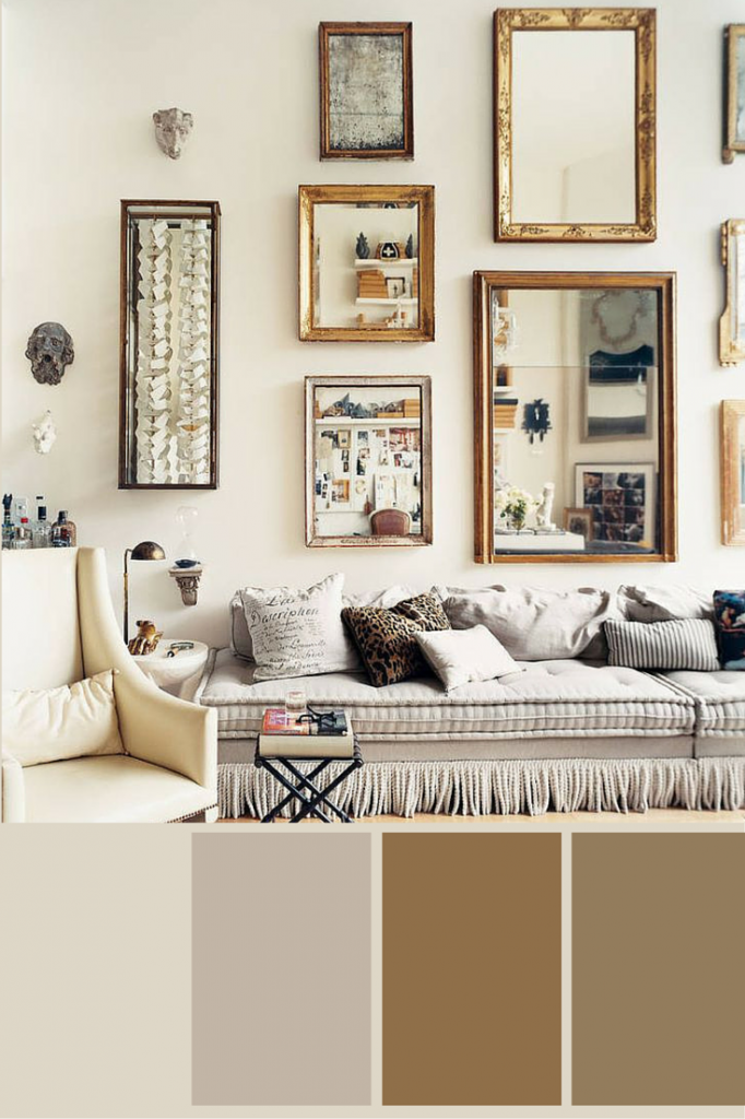 color collage  Love of Home