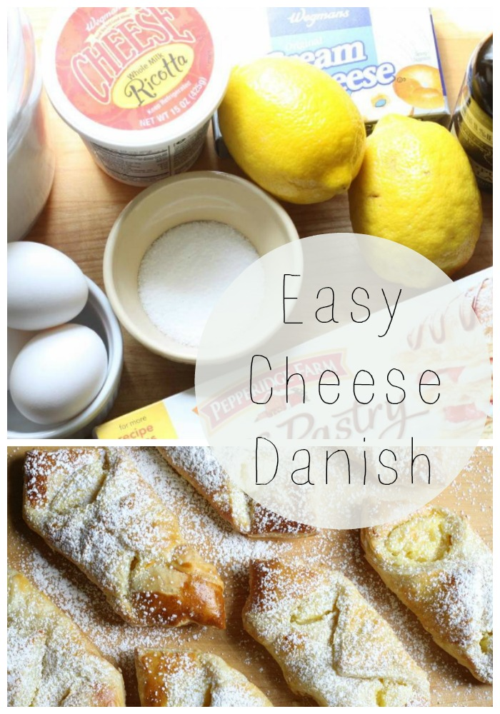 No fuss dessert easy cheese danish