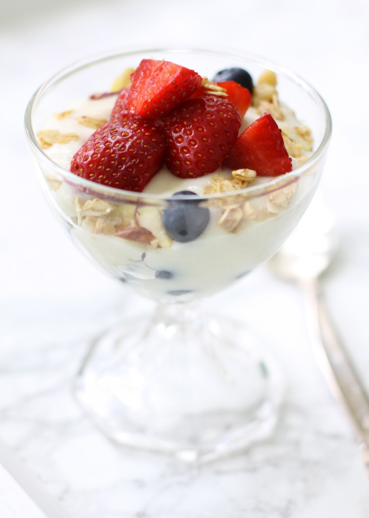 Homemade Granola Parfait | Love of Home