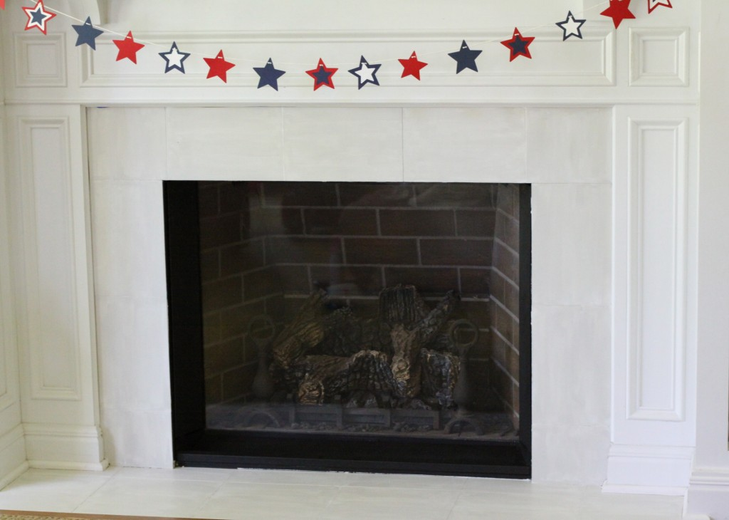 Fireplace Glass Easily Cleaned! Love of Home