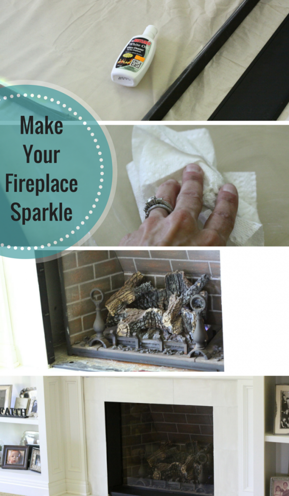 Make Your Fireplace Sparkle| Love of Home