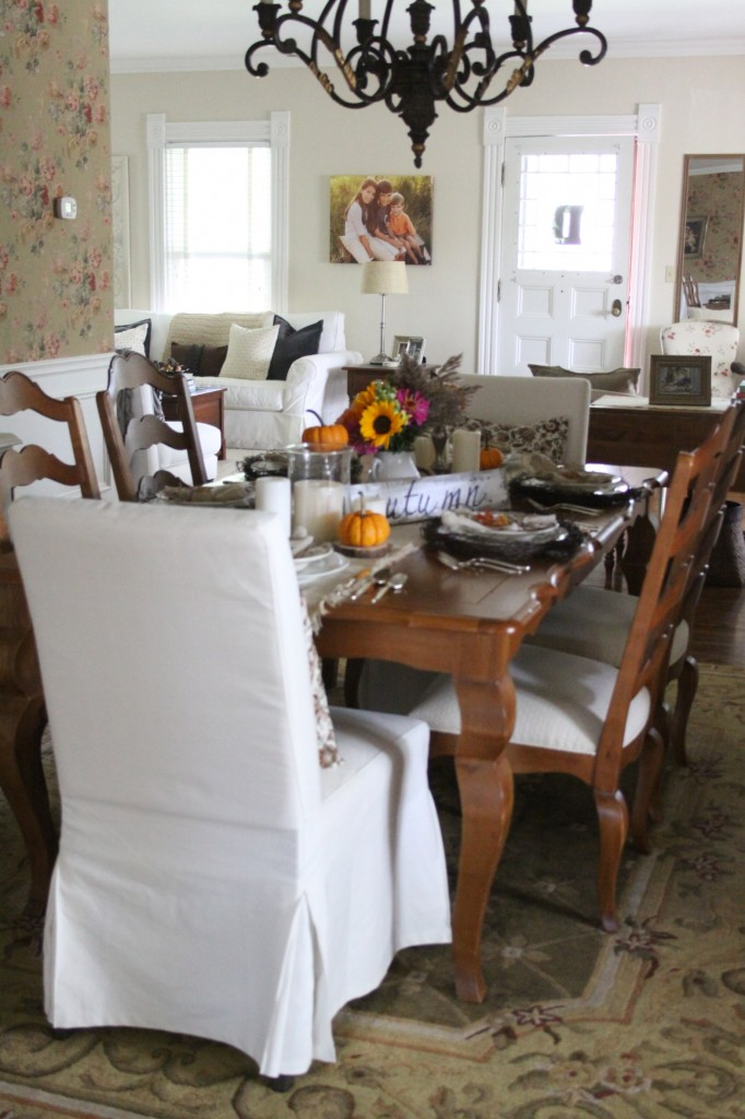 Fall Table  Love of Home