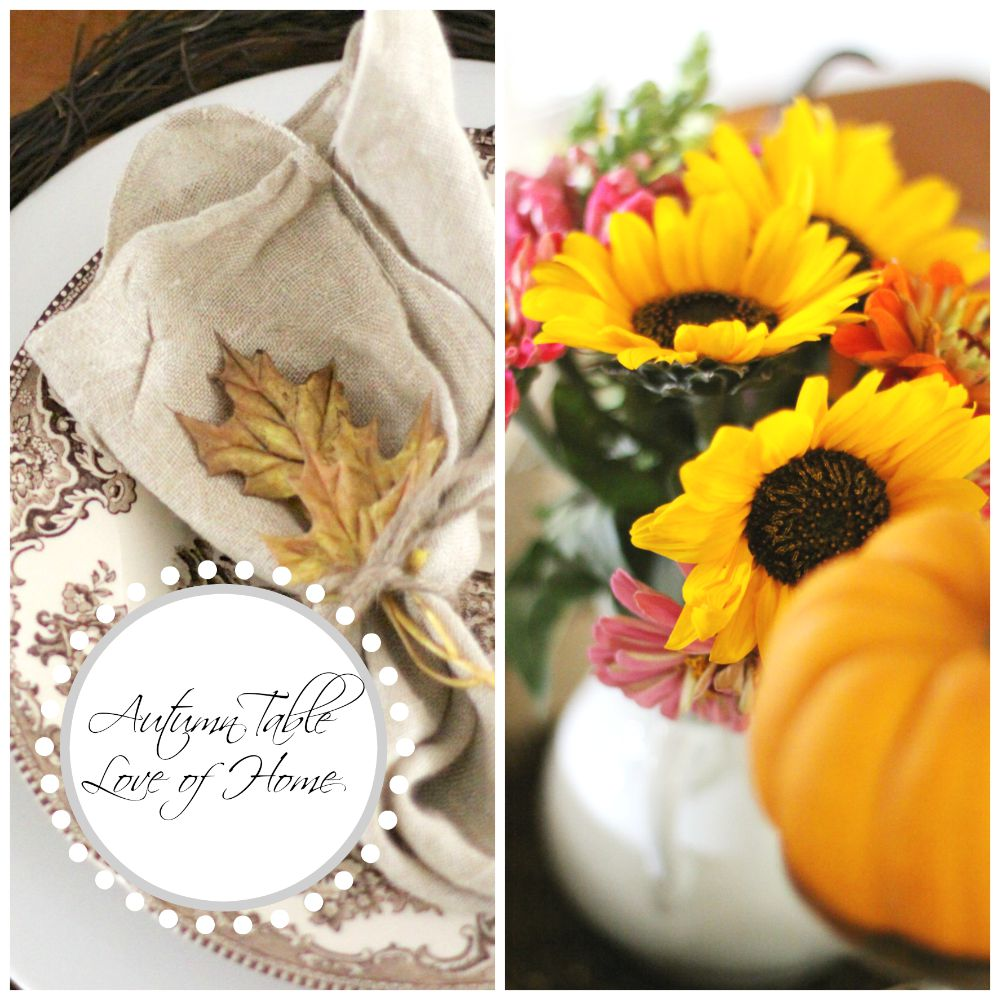 bHome Fall LInk Party & Giveaway! | Love of Home