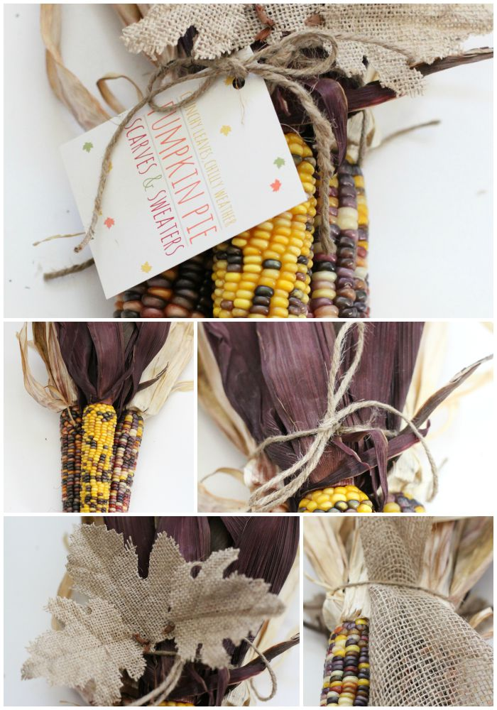 Indian Corn Decor | Love of Home