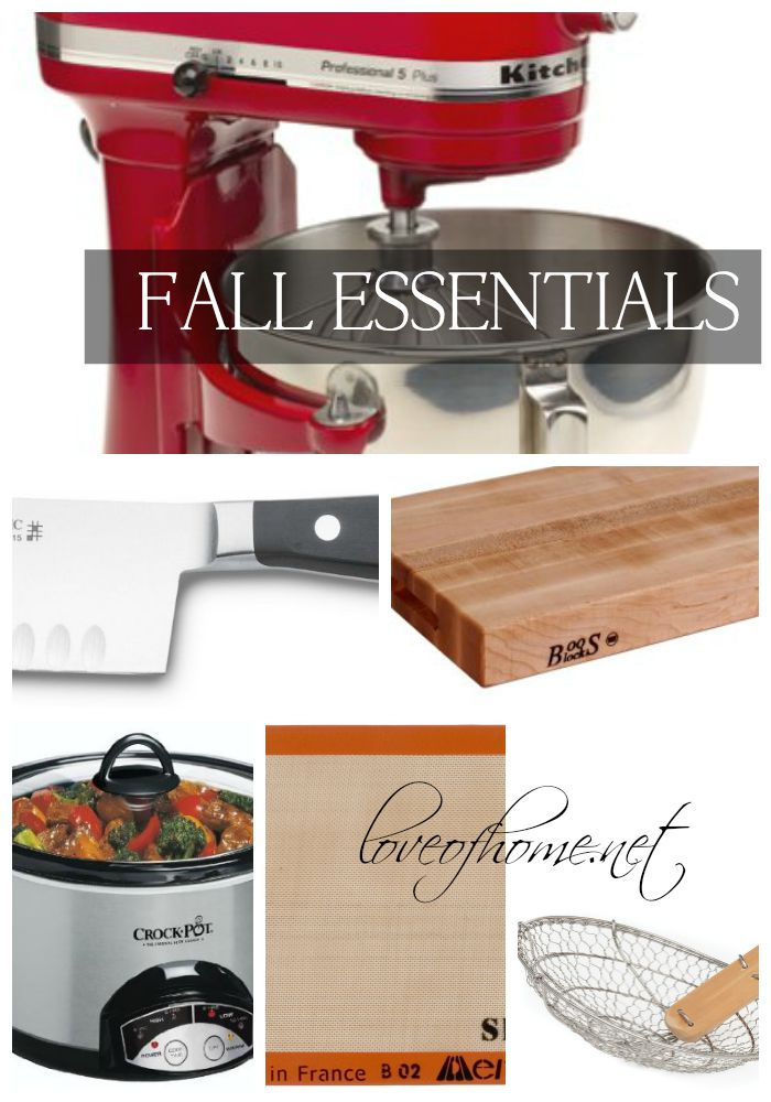 Kitchen Essentials | Love of Home