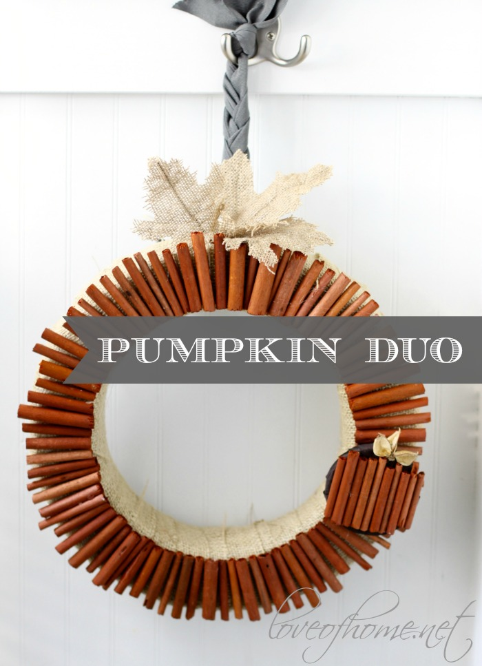 Pumpkin Duo| Love of Home