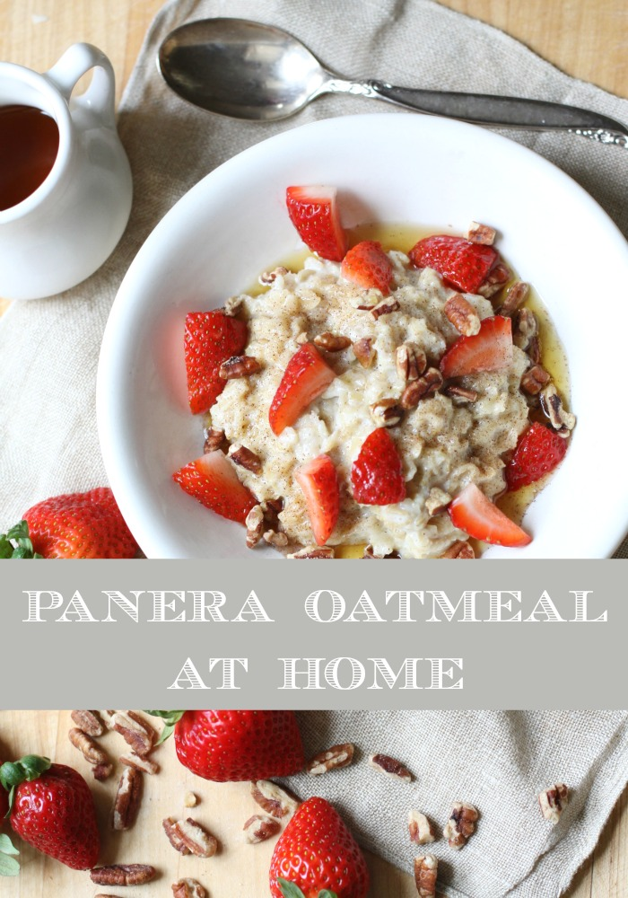 Make this yummy oatmeal at home, it's so easy & delicious!