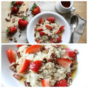 Strawberry Pecan Oatmeal. My take on Panera's. Love of Home