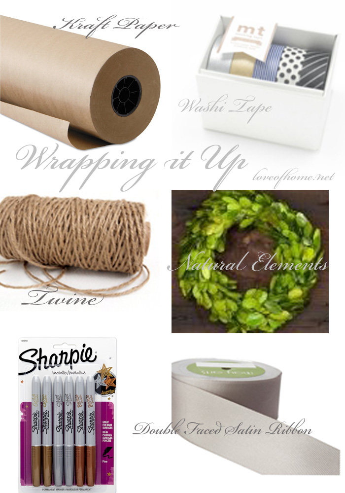 Wrap It Up| Gift wrapping essentials. | Love of Home