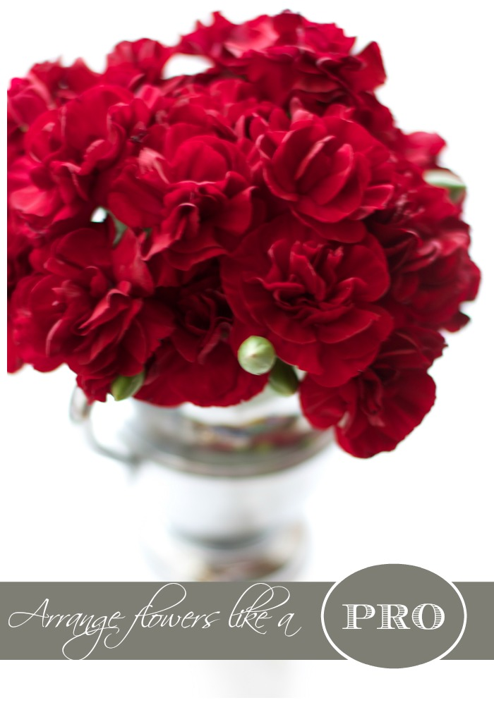 How to Arrange Flowers Like a Pro | Love of Home