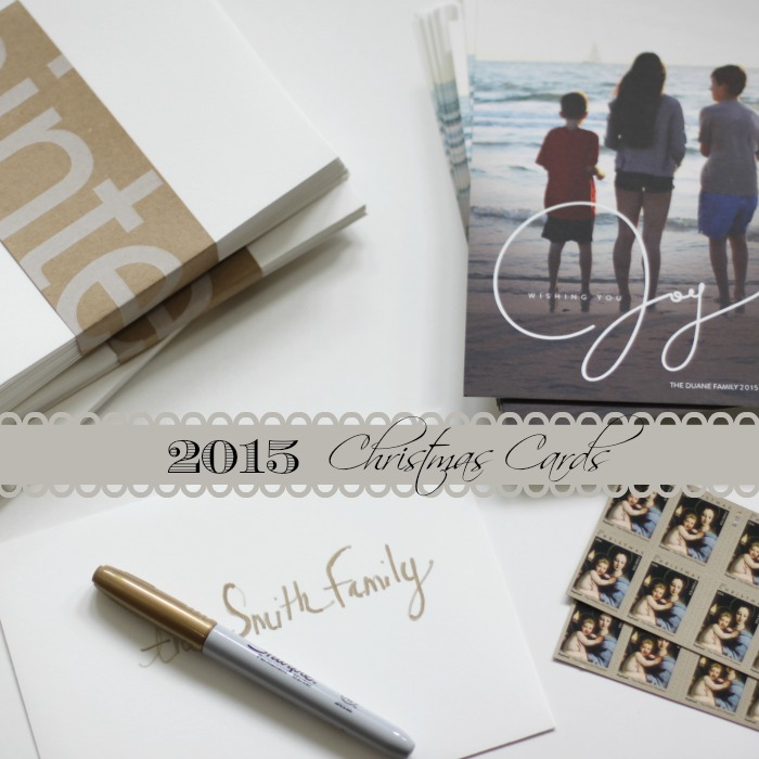 Christmas Cards 2015 | Love of Home