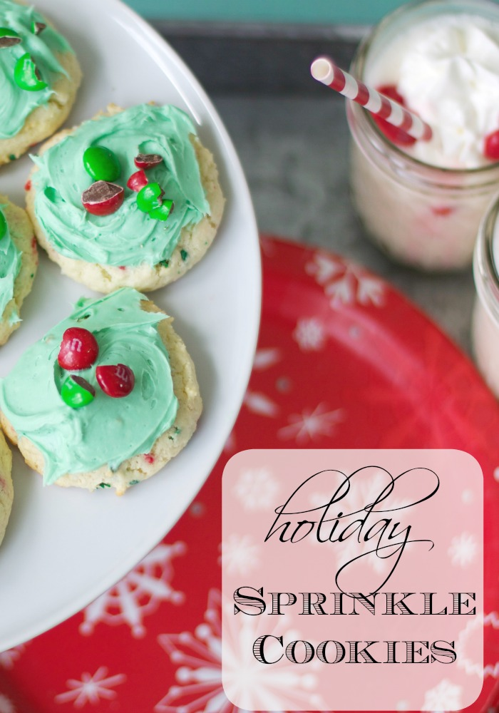 Holiday Sprinkle Cookies | Love of Home