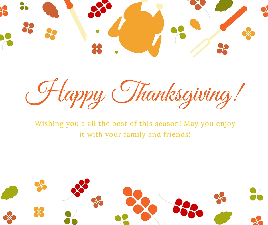 Happy Thanksgiving | Love of Home