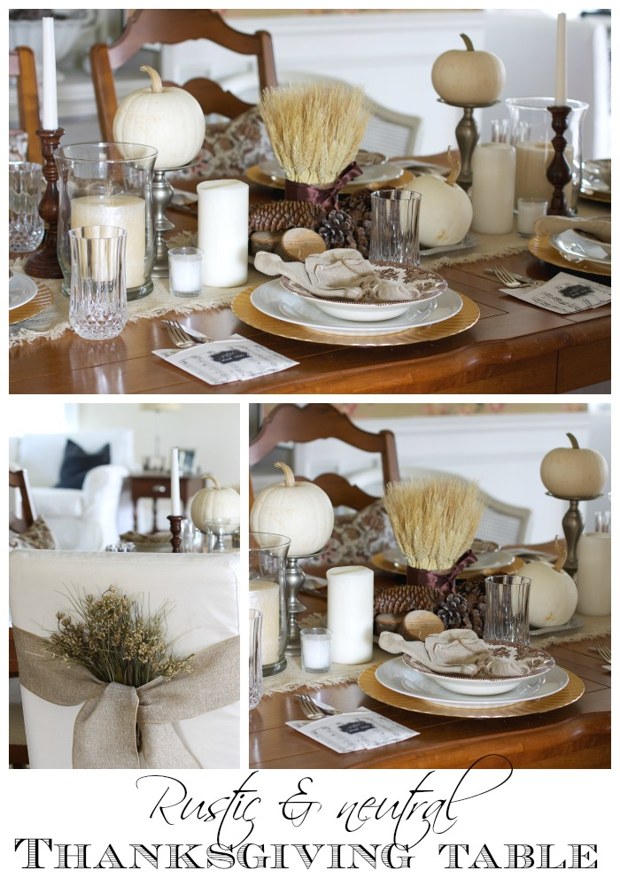 Thanksgiving table | Love of Home
