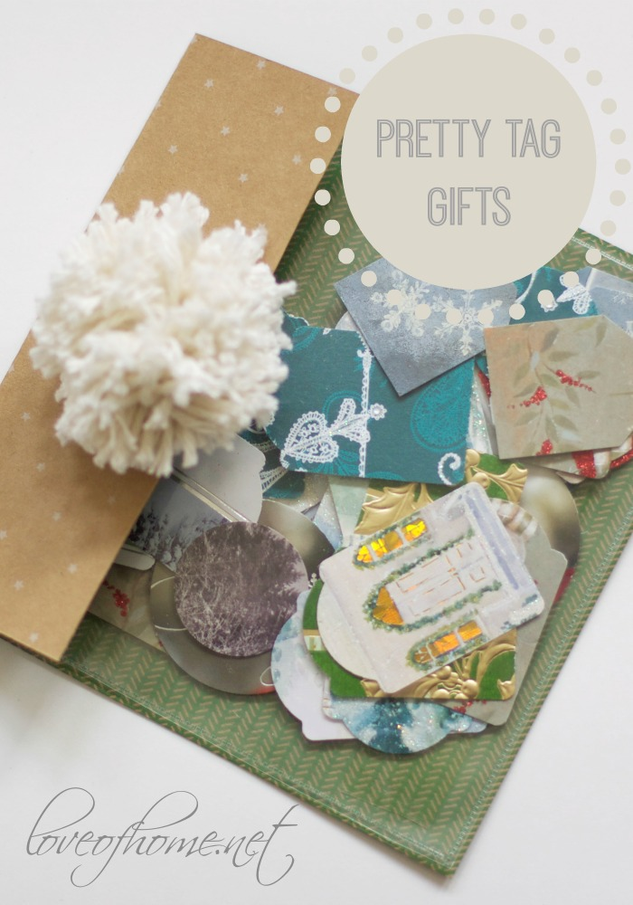 Easy Gift Tag Pocket | Love of Home