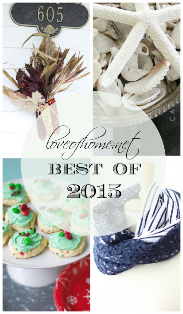 Best of 2015 | Love of Home