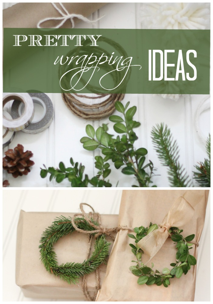 Gift Wrapping Ideas | Love of Home