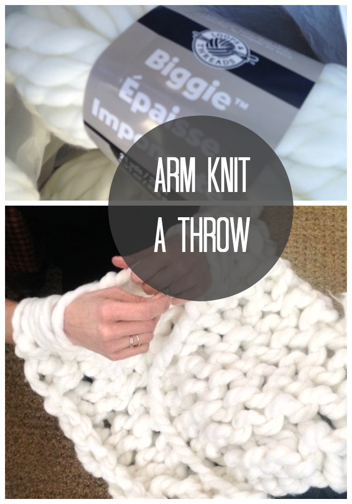 Make a Chunky Throw | Love of Home