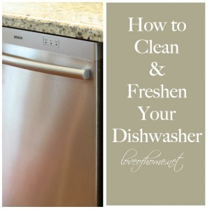 How to Clean & Freshen Your Dishwasher