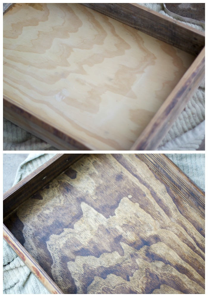 How to Make a Wood Tray | Love of Home