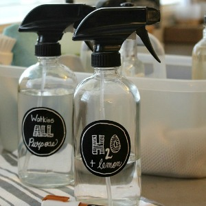 Organizing Under the Kitchen Sink - Clean and Scentsible