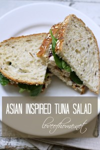 Asian Inspired Tuna Salad