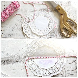 How to Make a Doily Bunting
