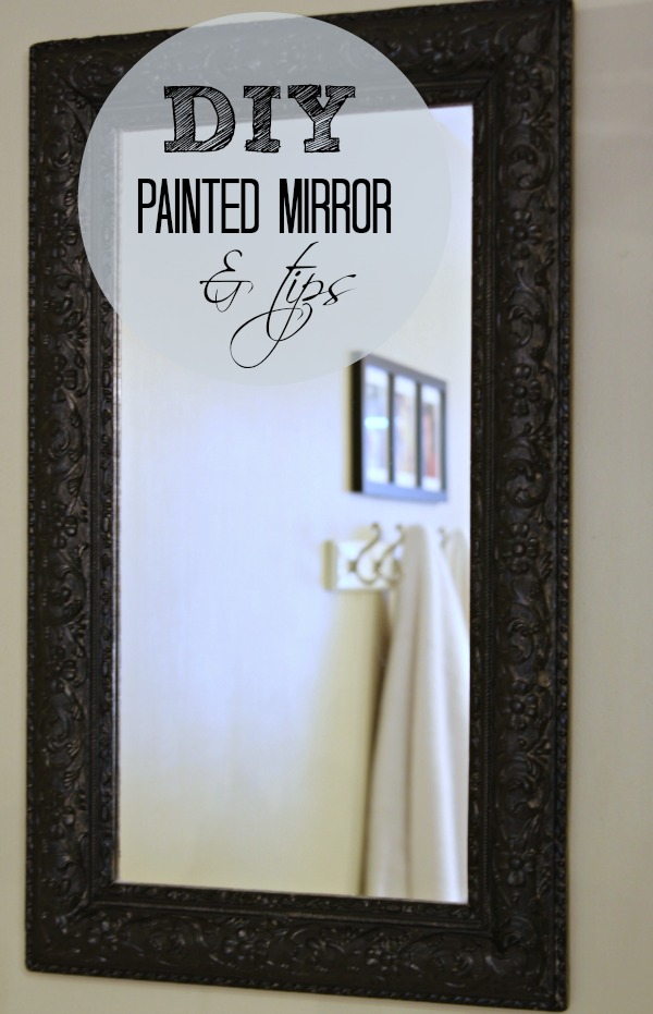 painted mirror diy love of home love of home
