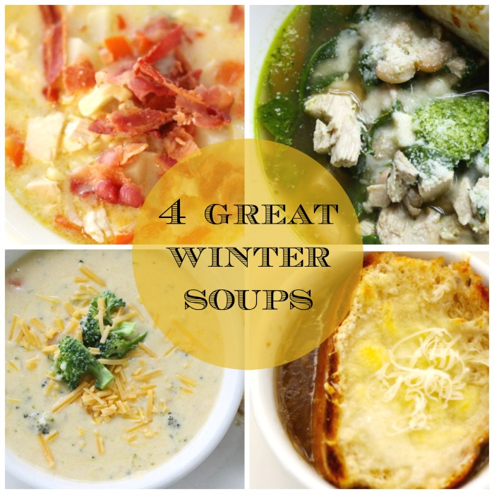 Four Winter Soups | Love of Home