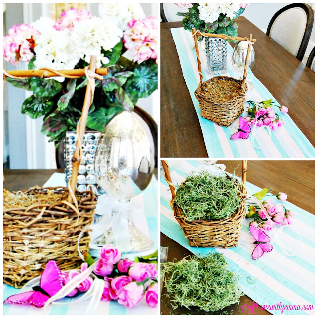 Easter Vignette Kitchen