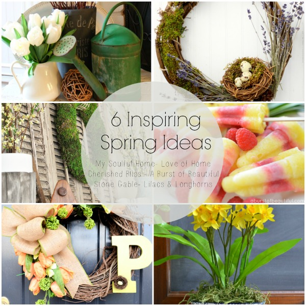 Collage Spring Hop | Love of Home