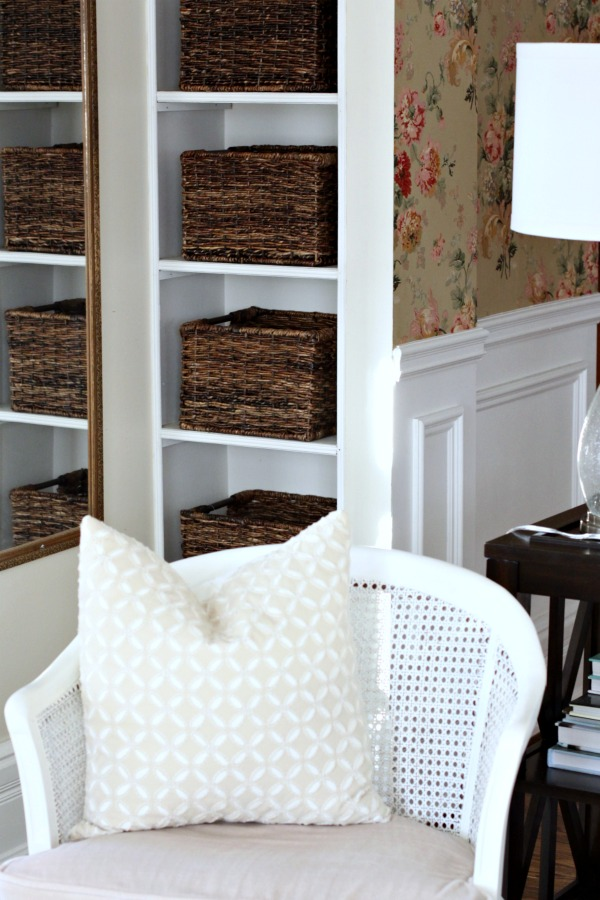 Living Niche with Baskets | Love of Home