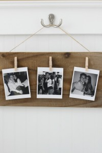 Rustic Photo Holder DIY